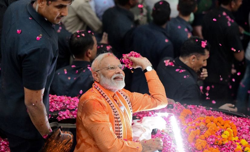 Lok Sabha elections: In presence of NDA allies, Narendra Modi to file nomination papers in Varanasi today; will follow it up with roadshow