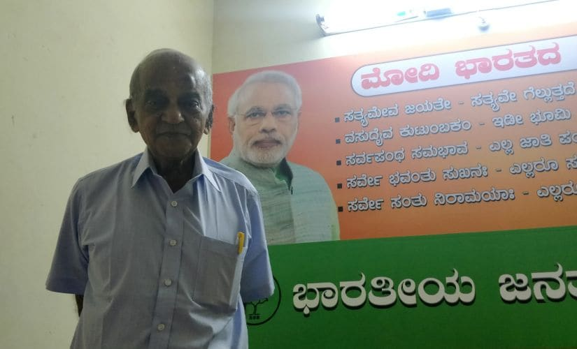 A member with the RSS since 1941, Somshekhar attributes the initial spread of RSS in Udupi to the work of RSS pracharak MR Natoo from Nagpur.
