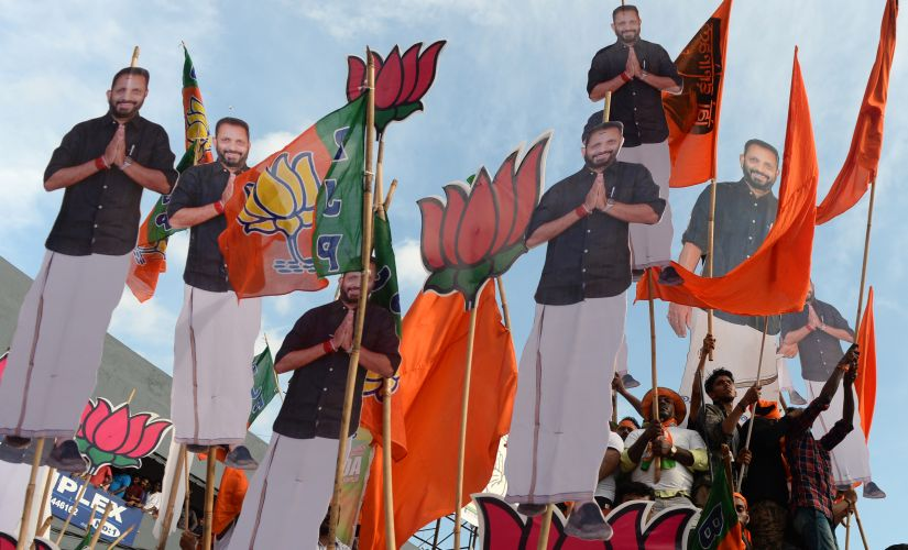 Lok Sabha election 2019: High poll turnout has traditionally aided Congress-led UDF in Kerala; trends may change with BJP in fray