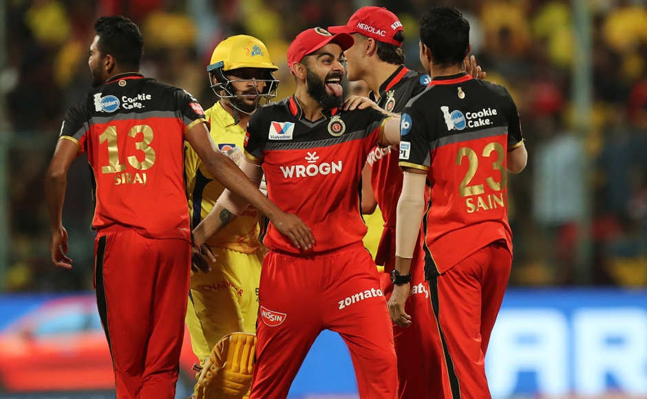 In another match on Sunday, Royal Challengers Bangalore pulled off a thriller against Chennai Super Kings as they won the match by one run. This is a second consecutive win for the Virat Kohli-led side. Sportzpics