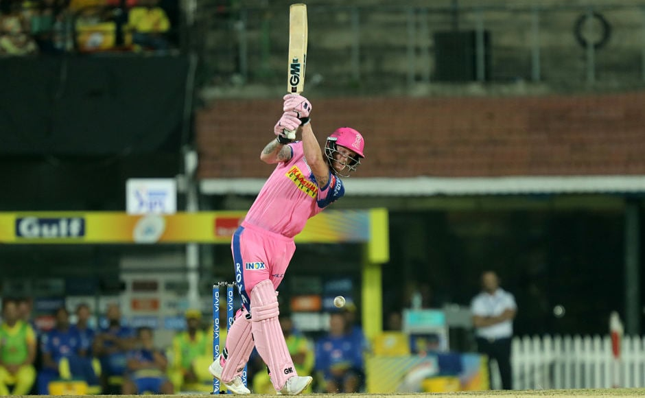 Rajasthan Royals lost quick wickets in the beginning but managed to stay in the game. Rahul Tripathi, Steve Smith and Ben Stokes contributed with valuable runs. Sportzpics