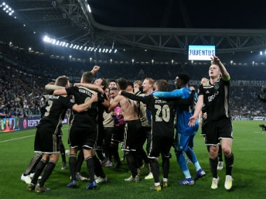 Champions League: Ajax stun Juventus to reach semis for first time since 1997; Barcelona down careless Manchester United