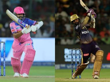 Rr Vs Kkr Highlights And Match Recap Ipl 2019 Full Cricket Score Kolkata Cruise To Eight Wicket Win Firstcricket News Firstpost