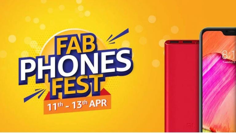 Amazon Fab Phones Fest sale starts with discounts on OnePlus 6T, iPhone X and more