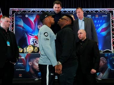 Jarrel Miller denied boxing license over failed drug test ahead of bout with Great Britains Anthony Joshua