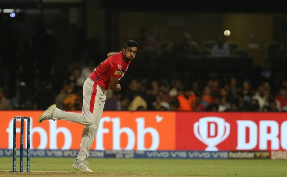 R Ashwin led from the front last night with the ball as he gave away just 15 in four overs in a high-scoring match and also took the wicket of Moeen Ali. Sportzpics