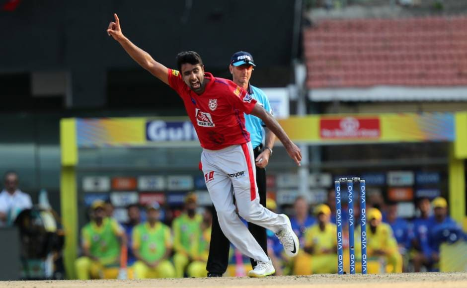 Local boy Ravichandran Ashwin and captain of KXIP shone with the ball at Chennai with figures of 3/23 to restrict CSK from attaining a massive total. Sportzpics