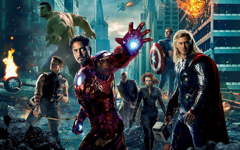 A poster for The Avengers (2012). Marvel