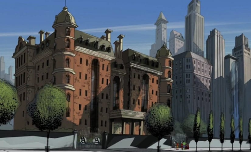 Turns out New York's landlords are the true supervillains of the Marvel Universe.   Marvel Comics