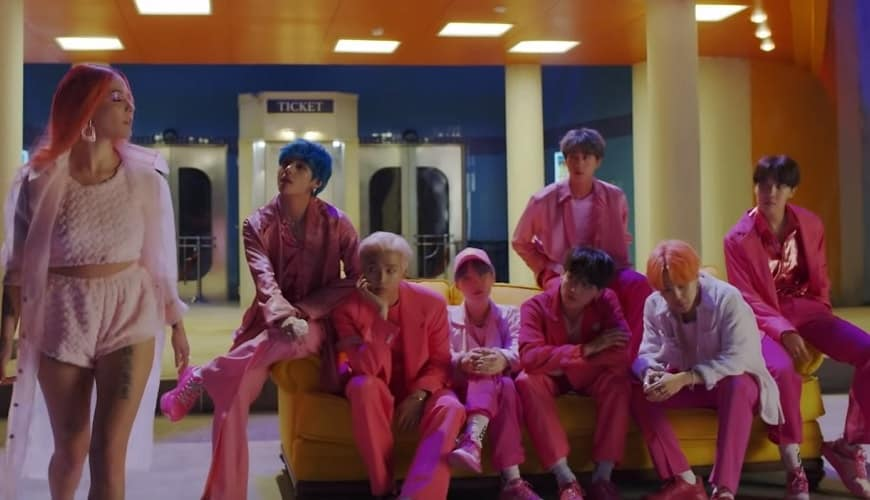 BTS release teaser of Boy With Luv, their new track in collaboration with Halsey