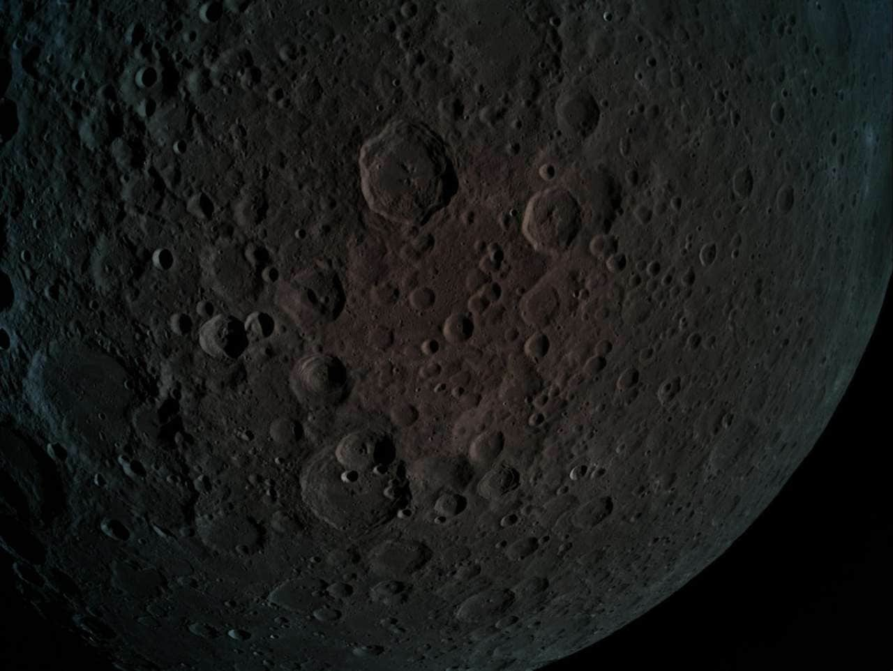 Shrinking Moon: Sporadic quakes from tectonic activity has left wrinkles on the Moon