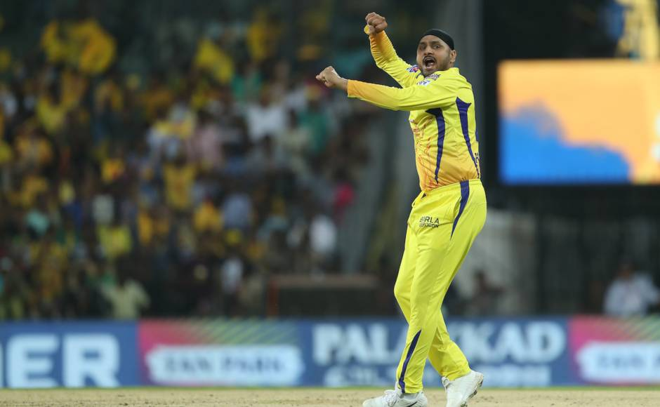 Harbhajan Singh gave CSK the perfect start by removing dangerous Chris Gayle and Mayank Agarwal to lead CSK to another win. Sportzpics