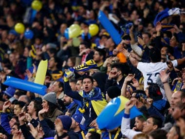Argentine authorities hand out four-year stadium bans to 128 Boca Juniors supporters for football hooliganism
