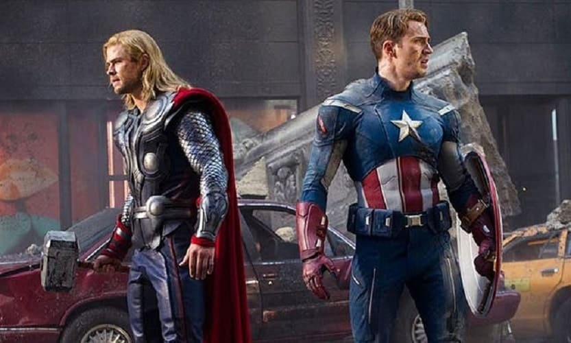 Captain America and Thor Source: Twitter