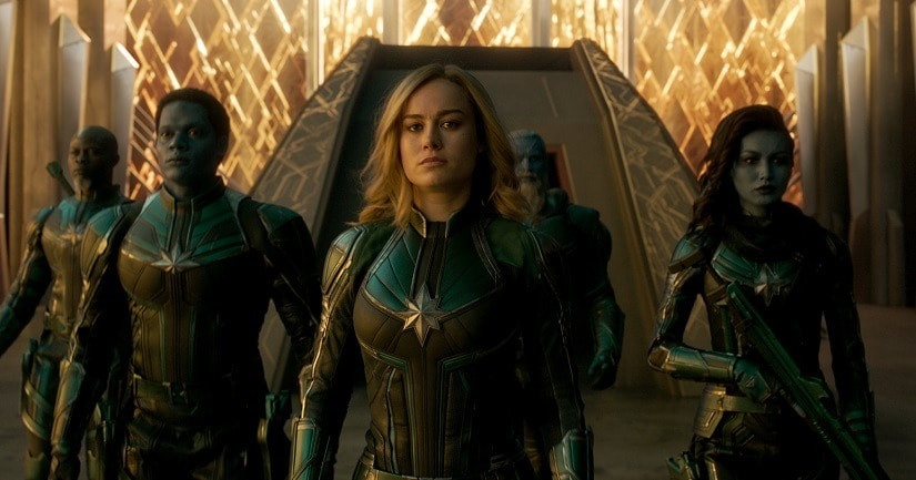 A still from Captain Marvel. Marvel Studios