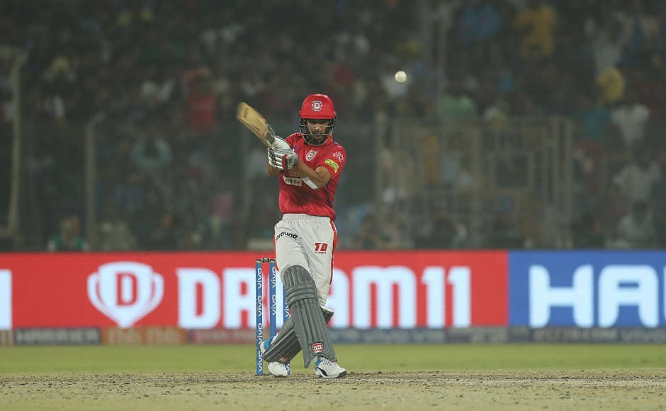 Making his debut in IPL, Harpreet Brar,at the end of the innings, provided a much-needed boost to the Punjab innings, stroking 20 runs off 12 balls to take his side to a competitive total of 163/7. Sportzpics