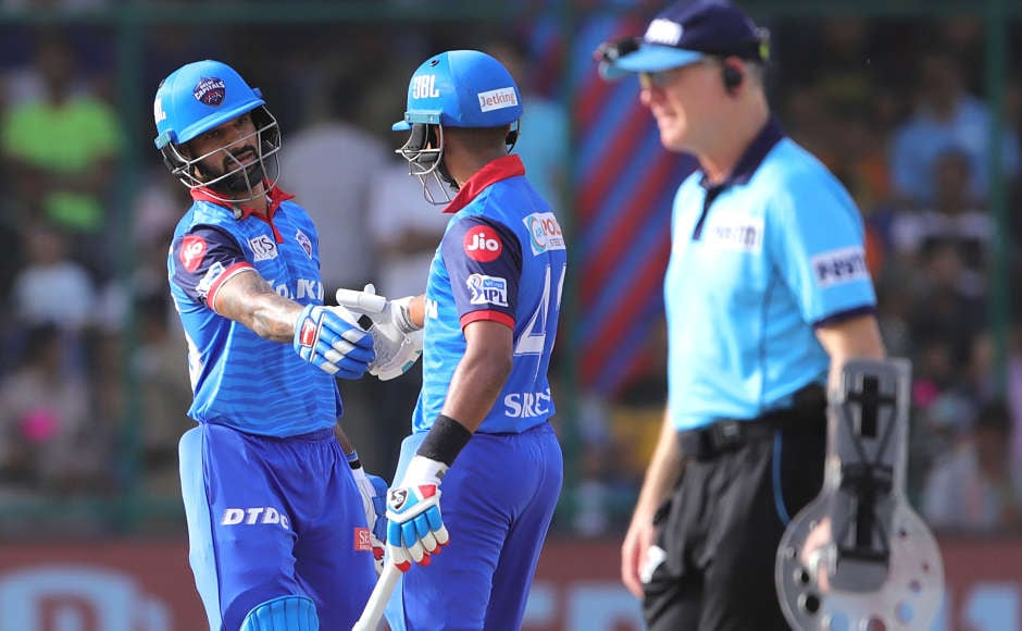 Shikhar Dhawan (left) and Shreyas Iyer formed 68-run stand for the second wicket after the fall of Prithvi Shaw early on in the innings to bring the team's innings back on track. Both the batters slammed fifties in the process. Sportzpics
