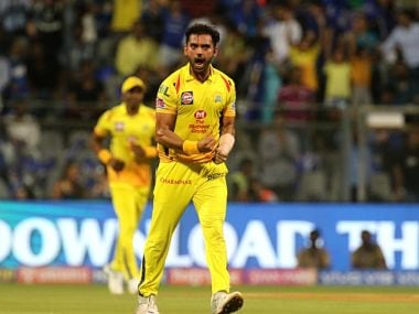 IPL 2019, CSK vs KKR: Deepak Chahar becomes bowler with most dot balls in an innings in the tournament
