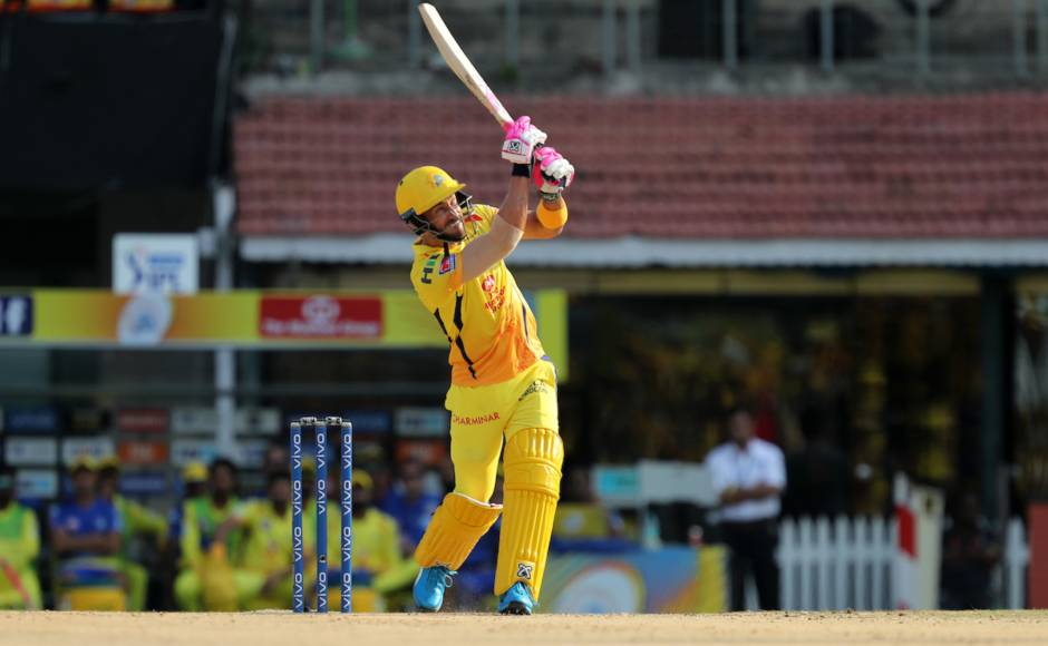 Faf Du Plessis slammed 54 off 38 in his first match of IPL 2019 to solve opening woes of CSK against KXIP. Sportzpics