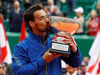 Monte Carlo Masters: Fabio Fognini beats Dusan Lajovic in final to become first Italian in 51 years to win title