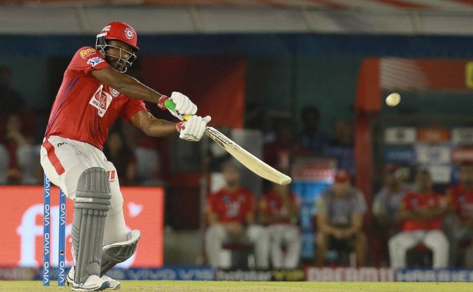 Chris Gayle scored unbeaten 99, the second batsman after Raina to remain unbeaten one short of a ton in IPL, as KXIP posted 173/4 in 20 overs against RCB. Sportzpics