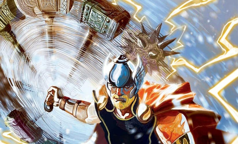 Odins son and king of Asgard, Thor is the god most likely to answer humanitys call in times of need
