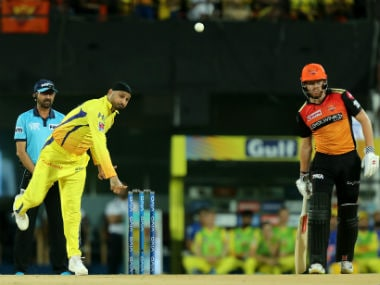Harbhajan Singh dismissed David Warner and Jonny Bairstow on Tuesday. Sportzpics