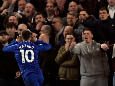 Premier League: Eden Hazard's stunning individual performance sinks West Ham United as Chelsea move to third place