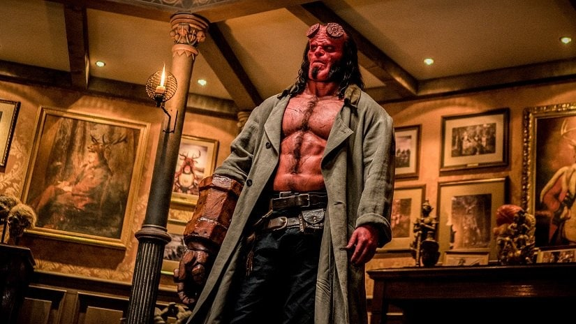 Hellboy star David Harbour on undergoing physical transformation for the role, and working with Ian McShane