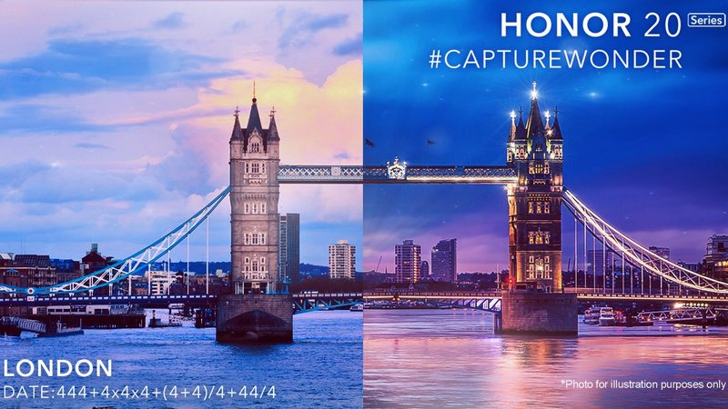Honor 20 series launch confirmed on 21 May in London, could come with quad cameras