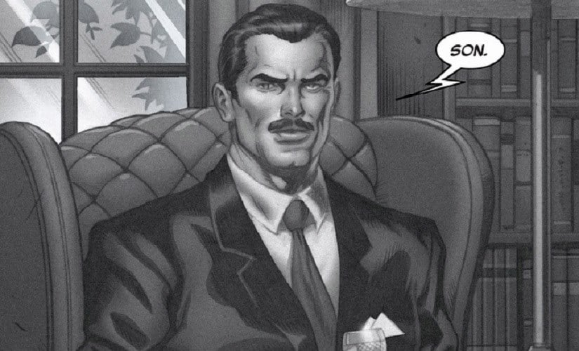 Howard Stark #1st in Arms dealing, #567,573,456th in parenting   Marvel Comics