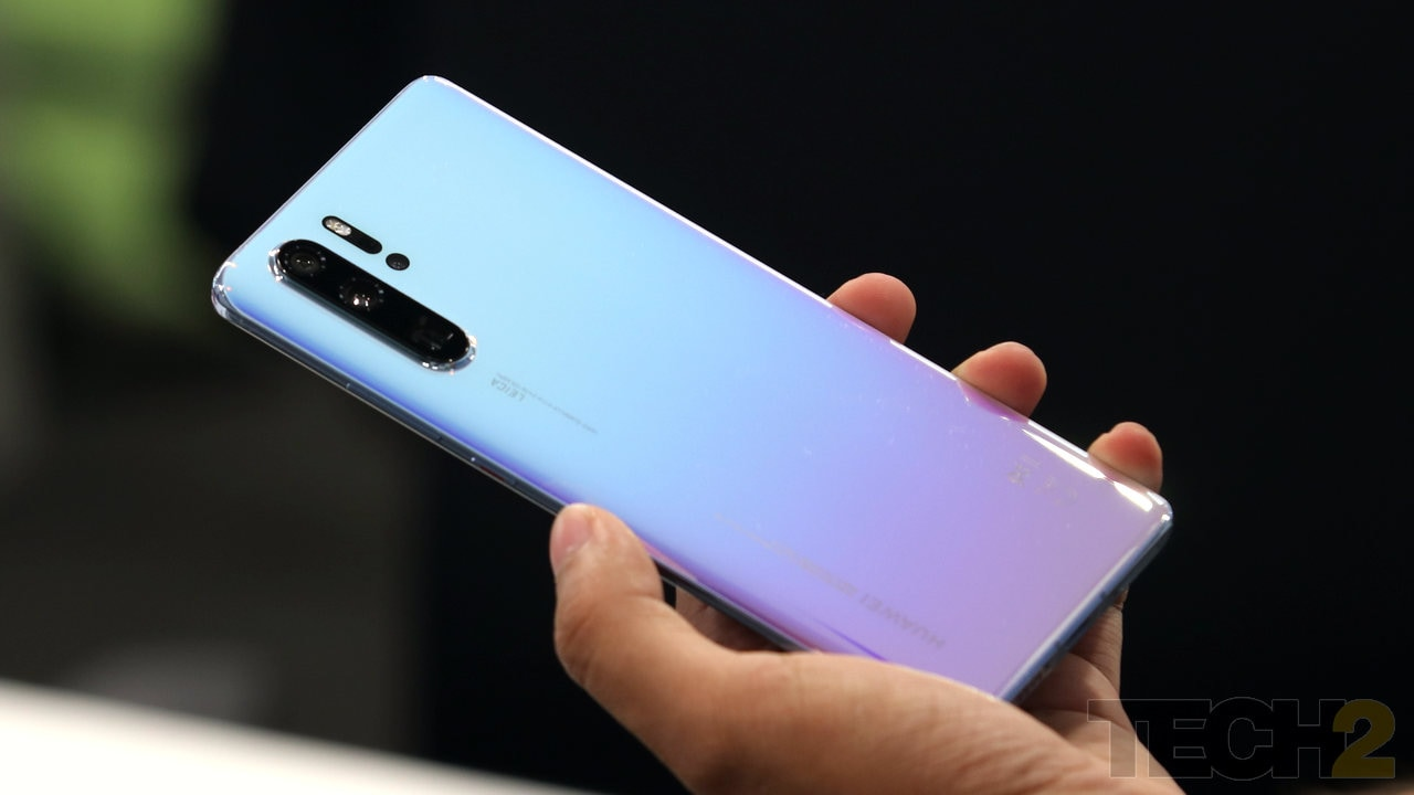 The Huawei P30 Pro. Image Tech2/ Prannoy Palav