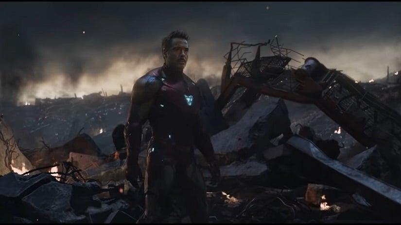 Iron Man in the new Avengers: Endgame teaser