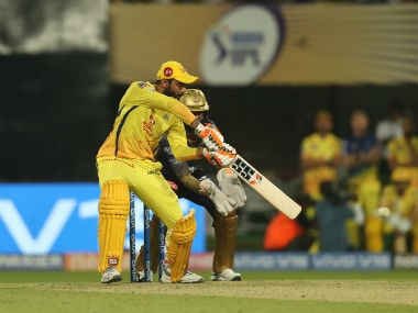 Ravindra Jadeja played a match-winnig innings for CSK. Sportzpics