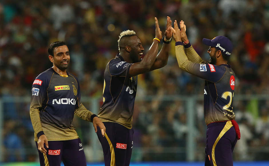 Andre Russell had batted for 40 ballsearlier and played an important role in taking the KKR total to 232/2. He came back and bowled 4 overs, giving away just 25 runs while picking up 2 wickets. He was adjudged the Man of the Match. Sportzpics