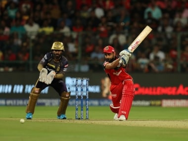 IPL 2019 LIVE SCORE, KKR vs RCB Match at Eden Gardens: Narine falls for 18 after KKR lose Lynn