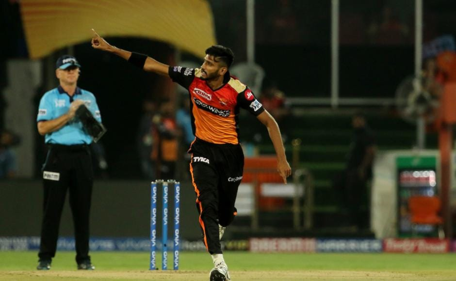 Khaleel Ahmed gave SRH the perfect start against DC as he removed both their openers early and finished with match figures of 3/30. Sportzpics