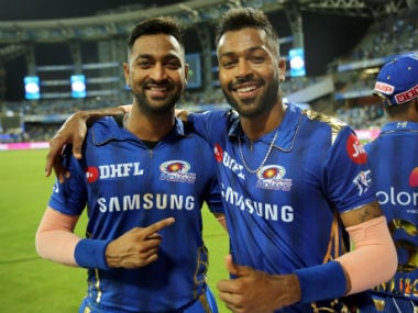 File image of Krunal and Hardik Pandya. Sportzpics