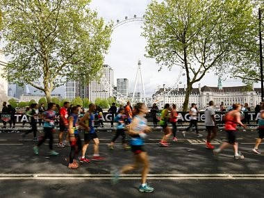 London Marathon 2019 makes refreshing move to offer water capsules in seaweed pouches to runners instead of plastic bottles