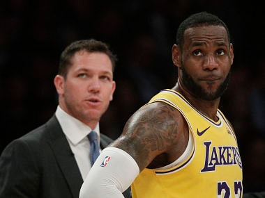 NBA: Lakers star LeBron James defends Luke Waltons record amid speculation concerning coachs future with franchise