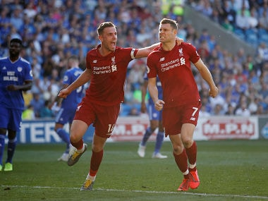 Premier League: Liverpool regain lead in title race with hard-fought win over relegation-threatened Cardiff