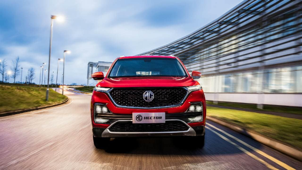 MG Hector SUV: MG Indias new connected car infotainment system launched