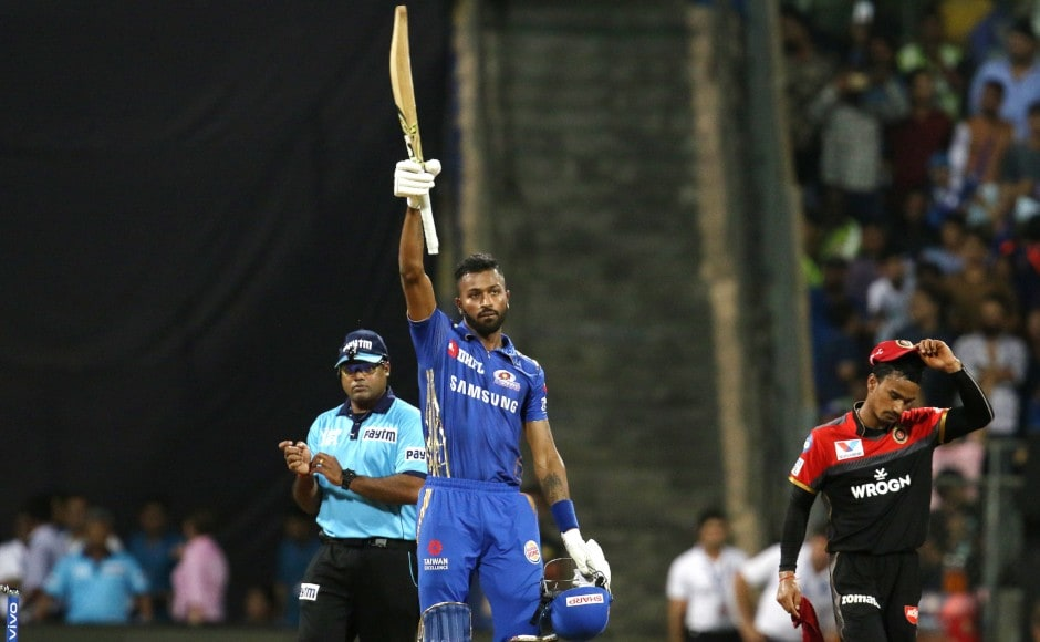 Hardik Pandya walloped a quickfire 37* off 16 balls, hurling Mumbai Indians to a victory in the 19th over ensuring there weren't any hiccups towards the end. Sportzpics