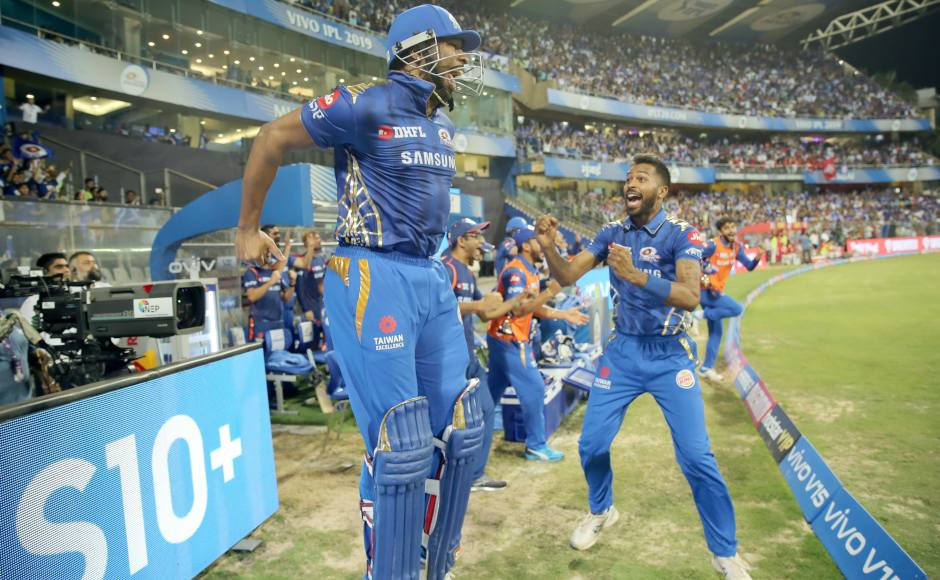 Kieron Pollard's blitz trumps KL Rahul's century as Mumbai Indians seal unlikely win against Kings XI Punjab
