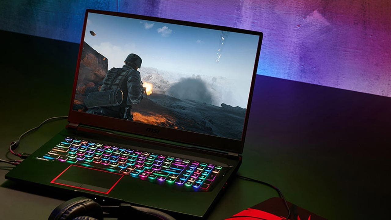 The Full HD, 144 Hz display is perfect for gamers.