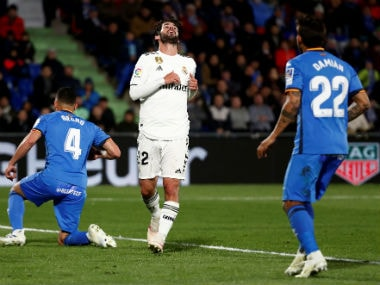 LaLiga: Zinedine Zidanes Real Madrid hit another low as Champions League chasers Getafe manage a goalless draw
