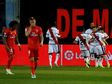 LaLiga: Real Madrids woeful form continues under Zinedine Zidane after shocking defeat to Rayo Vallecano