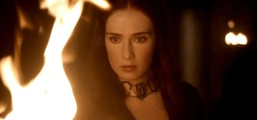 Melisandre worships R'hollor, or the Lord of Light in Game of Thrones, HBO