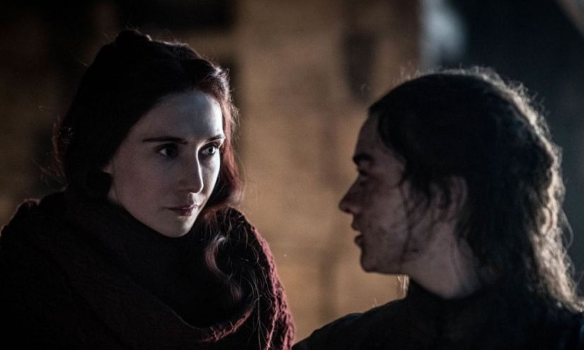 Still from Game of Thrones season 8 episode 3. Image via Twitter