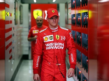 Formula One: Michael Schumachers son Mick makes Ferrari debut during Bahrain testing session